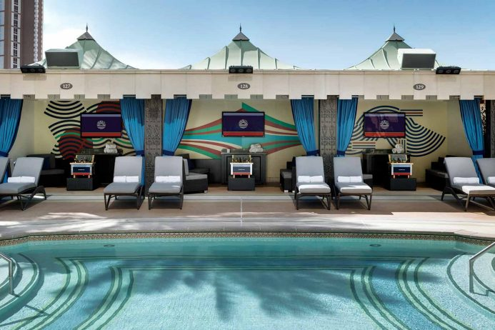 Cabanas and Daybeds & The Venetian® Las Vegas | Las Vegas Pools | Pool Cabanas Daybeds ...