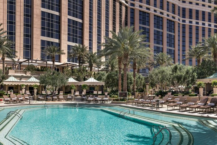 The Palazzo Pool Deck