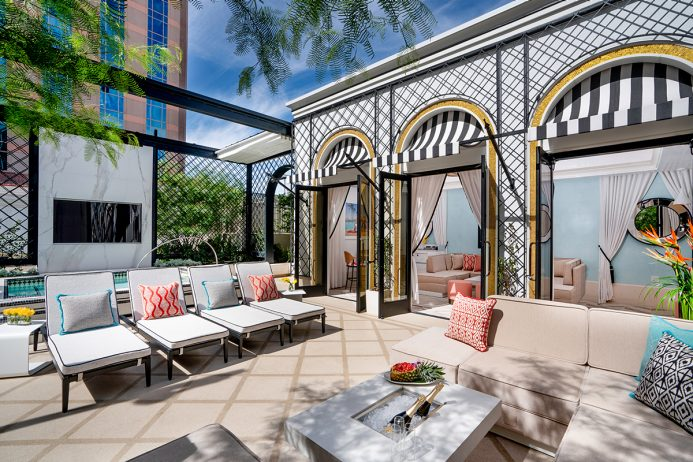 Best Cabanas in Las Vegas