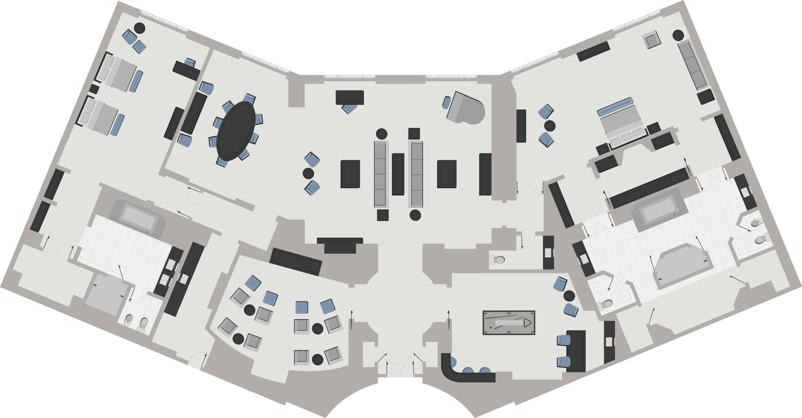Venetian Floor Plan Suites Gurus Floor