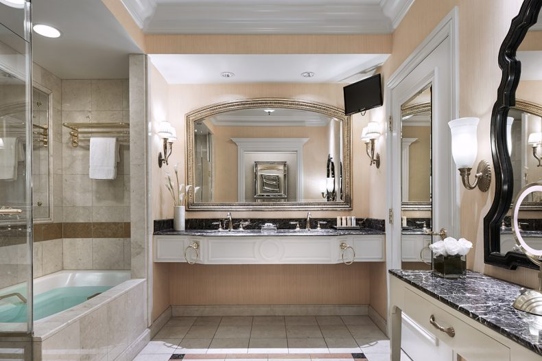 Luxury Two Queen Suite At Venezia Tower Las Vegas Suites